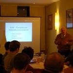 Prof. Dr. Manfred Matschke während seines Vortrages
